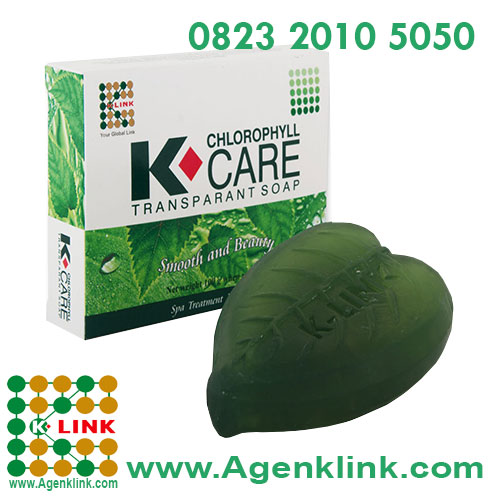 K-Care Chlorophyll Transparant Soap