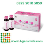 K-Liquid Mixed Collagen Drink Minuman Rasa Leci Dengan Kolagen
