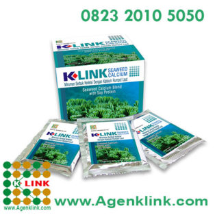 Produk K-Link K-Seaweed Calcium with Soy Protein K-Seaweed Calcium With Soy Protein