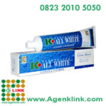 K-All White Blue Cool Mint Toothpaste